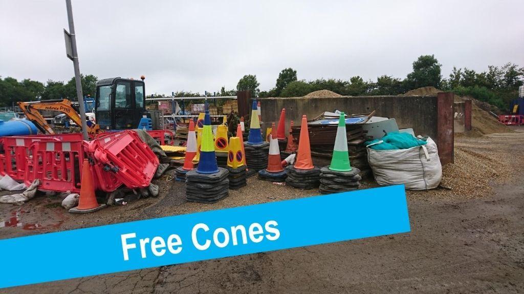 free cones
